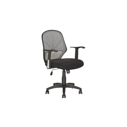 CorLiving - Fabric Office Chair - Black