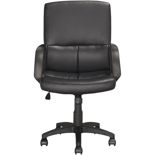 CorLiving - Leatherette Executive Office Chair - Black
