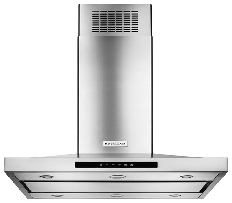KitchenAid - 36 Convertible Range Hood - Stainless Steel (Silver)