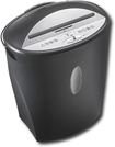 Dynex - 8-sheet Diamond-Cut Paper Shredder - Black/Silver