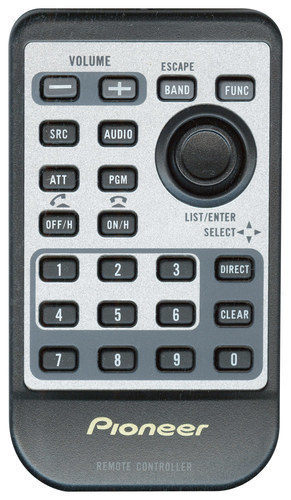 Pioneer - Wireless Remote - Gray