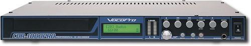 VocoPro - Professional CD Recorder/Player - Black