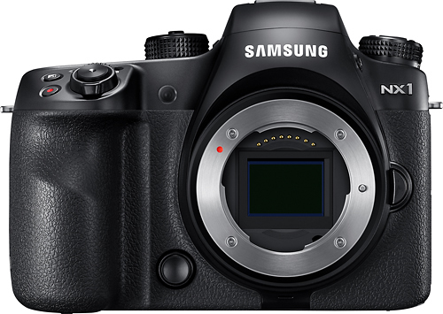 Samsung - NX1 Mirrorless Camera (Body Only)