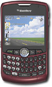 MetroPCS - BlackBerry Curve 8330 Mobile Phone - Red