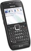 AT&T Nokia E71X Mobile Phone - Black