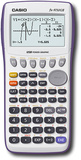 Casio - Graphing Calculator - White