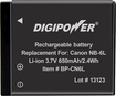 Buy Digital Cameras - DigiPower Rechargeable Lithium-Ion Battery for Select Canon PowerShot Digital Cameras