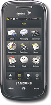 Sprint Samsung Instinct S30 Mobile Phone - Cobalt Metal