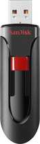 SanDisk - Cruzer36 32GB USB 20 Flash Drive - Black
