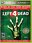 Left 4 Dead: Game of the Year Edition Platinum Hits - Xbox 360