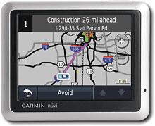 Garmin Nuvi 1250T Portable GPS System