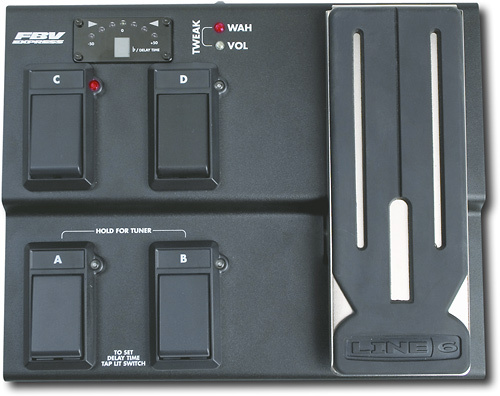 Line 6 - FBV Express MkII Foot Controller - Black