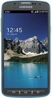 Samsung - Galaxy S 4 Active 4G LTE with 16GB Memory Cell Phone - Blue (AT&T)