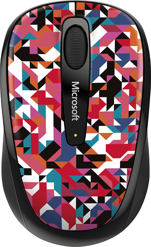 Microsoft - Wireless Mobile Mouse 3500 - Geo Prism