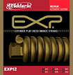 D'Addario - EXP Steel and Bronze Wound Acoustic Guitar Strings