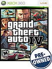 Grand Theft Auto IV - PRE-OWNED - Xbox 360