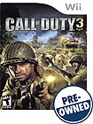 Call of Duty 3 - PRE-OWNED - Nintendo Wii