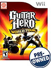 Guitar Hero World Tour Game - PRE-OWNED - Nintendo Wii