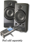 Insignia - 20 Stereo Computer Speaker System (2-Piece) - Black