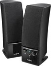InsigniaT - 20 Stereo Computer Speaker System (2-Piece) - Black