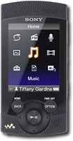Sony - Walkman 16GB* MP3 Player - Black
