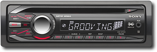 Sony Xplod 52W x 4 In-Dash CD Deck with Detachable Faceplate