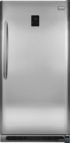 Frigidaire - Gallery 20.5 Cu. Ft. Frost-Free 2-in-1 Upright Freezer or Refrigerator - Stainless Steel (Silver)