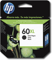 HP - 60XL Black Original Ink Cartridge - Black