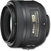 Nikon - AF-S DX Nikkor 35mm f/18 Lens for Nikon F-Mount Digital SLR Cameras