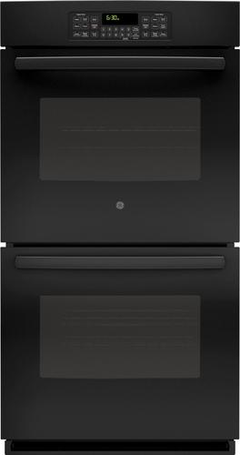 GE - 27 Built-In Double Electric Wall Oven - Black