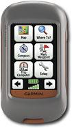 "Garmin - Garmin Dakota 20 2.6"" Handheld GPS Navigator - Red/Gray"