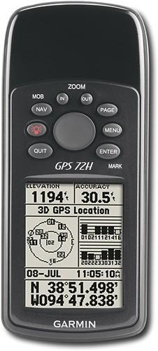 Garmin - 72H GPS - Black