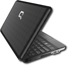 Compaq – Mini Netbook with Intel Atom Processor – Black – 110c-1147NR for $399.99