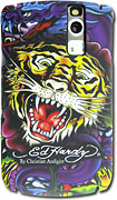 Ed Hardy - Case for BlackBerry Curve Mobile Phones - Black