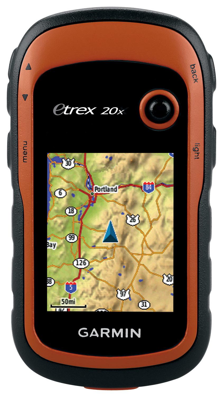 Garmin - eTrex 20x 2.2 GPS - Orange