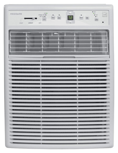 Frigidaire - Home Comfort 8,000 BTU Slider/Casement Window Air Conditioner - White