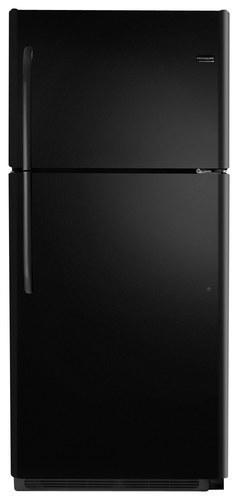 Frigidaire - 20.5 Cu Ft. Top-Freezer Refrigerator - Black