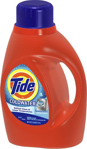 Tide - Coldwater 50 Oz. High-Efficiency Liquid Detergent