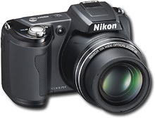 Nikon Coolpix L110 12.1 Megapixel Digital Camera - Black