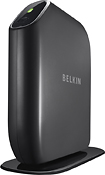 Buy Accessories - Belkin Play N600 HD Wireless Dual-Band N+ Router with 4-Port Switch and 2 USB Ports