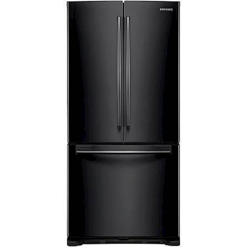Samsung - 19.5 Cu. Ft. French Door Refrigerator - Black
