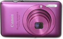 Canon PowerShot SD1400 14.1-Megapixel Digital Camera - Pink