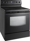 Samsung - 59 Cu Ft Self-Cleaning Freestanding Electric Range - Black