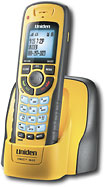Uniden - Expandable Cordless Phone System with Call-Waiting/Caller ID - Yellow/Black
