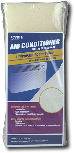 Frigidaire - Filter for Most Air Conditioners - Clear