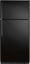 Frigidaire - 18.2 Cu. Ft. Top-Freezer Refrigerator - Black