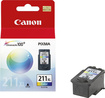 Canon - ChromaLife 211 Ink Cartridge for Select Canon Printers - Cyan/Magenta/Yellow