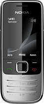 Truphone Local Anywhere - Samsung E2210 No-Contract Mobile Phone - Dark Gray/Red