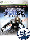 Star Wars: The Force Unleashed Ultimate Sith Edition PRE-OWNED - Xbox 360