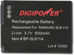 Buy Samsung Cameras - DigiPower Lithium-Ion Battery for Select Samsung Digital Cameras